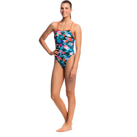Funkita Tie Me Tight One Piece Swimsuit Women Split Scene